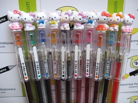 Hello Kitty Pens, image from http://jetpens.com