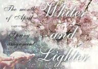 whiter and lighter